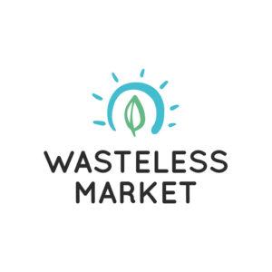 wasteless market logo