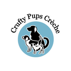crufty pups creche logo
